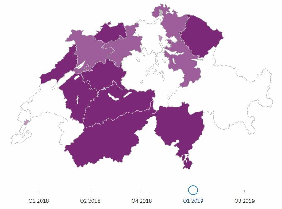 Fribourg - Neuchâtel - Jura -Jura- Bernois - Valais